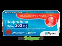 IBUPROFENE MYLAN 200 mg, comprimé enrobé à Saint -Vit