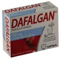 DAFALGAN 150 mg Poudre effervescente pour solution buvable B/12