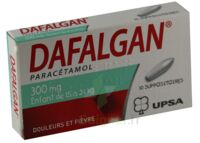 DAFALGAN 300 mg Suppositoires Plq/10 à Saint -Vit