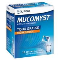 Mucomyst 200 Mg Poudre Pour Solution Buvable En Sachet B/18 à Saint -Vit