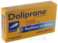 DOLIPRANE 200 mg Suppositoires 2Plq/5 (10)