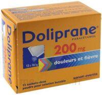 DOLIPRANE 200 mg Poudre pour solution buvable en sachet-dose B/12 à Saint -Vit