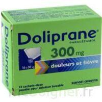 DOLIPRANE 300 mg Poudre pour solution buvable en sachet-dose B/12 à Saint -Vit
