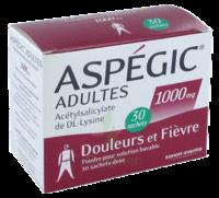 ASPEGIC ADULTES 1000 mg, poudre pour solution buvable en sachet-dose 30 à Saint -Vit
