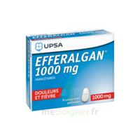 Efferalgan 1000 mg Comprimés pelliculés Plq/8 à Saint -Vit