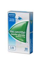 NICORETTE 2 mg Gom à mâcher médic sans sucre menthe glaciale Plq/30gom à Saint -Vit