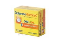 DOLIPRANEVITAMINEC 500 mg/150 mg, comprimé effervescent