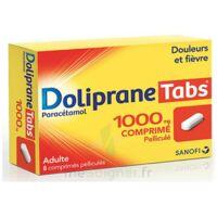 DOLIPRANETABS 1000 mg Comprimés pelliculés Plq/8 à Saint -Vit