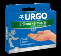 URGO BRULURES-BLESSURES PETIT FORMAT x 6 à Saint -Vit