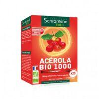 Santarome Bio Acérola 1000 Comprimés à croquer 2T/10 à Saint -Vit