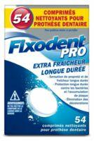 Fixodent Pro Comprimés Nettoyant Fraîcheur Longue Durée Pour Prothèse Dentaire B/54 à Saint -Vit