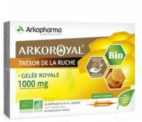 Arkoroyal Gelée Royale Bio 1000 Mg Solution Buvable 20 Ampoules/10ml à Saint -Vit