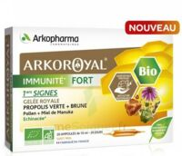 Arkoroyal Immunité Fort Solution Buvable 20 Ampoules/10ml à Saint -Vit