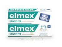 ELMEX SENSITIVE DENTIFRICE, tube 75 ml, pack 2 à Saint -Vit