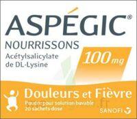 ASPEGIC NOURRISSONS 100 mg, poudre pour solution buvable en sachet-dose à Saint -Vit