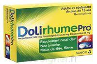 DOLIRHUMEPRO PARACETAMOL, PSEUDOEPHEDRINE ET DOXYLAMINE, comprimé à Saint -Vit
