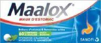 MAALOX HYDROXYDE D'ALUMINIUM/HYDROXYDE DE MAGNESIUM 400 mg/400 mg Cpr à croquer maux d'estomac Plq/60 à Saint -Vit