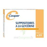 SUPPOSITOIRES A LA GLYCERINE COOPER Suppos en récipient multidose adulte Sach/25 à Saint -Vit