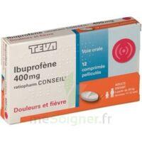 IBUPROFENE TEVA CONSEIL 400 mg, comprimé pelliculé à Saint -Vit