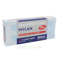 IBUPROFENE MYLAN 200 mg, comprimé enrobé B/30 à Saint -Vit