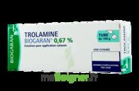 TROLAMINE BIOGARAN 0,67 % Emuls appl cut T/186g à Saint -Vit