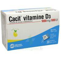 CACIT VITAMINE D3 1000 mg/880 UI, granulés effervescents 90Sach/8g à Saint -Vit