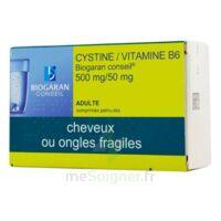 CYSTINE/VITAMINE B6 BIOGARAN CONSEIL 500 mg/50 mg Cpr pell Plq/120 à Saint -Vit