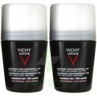 VICHY ANTI-TRANSPIRANT HOMME Bille anti-trace 48h LOT