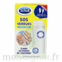 Scholl SOS Verrues traitement pieds et mains à Saint -Vit