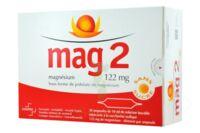 MAG 2 122 mg S buv en ampoule sans sucre édulcoré à la saccharine sodique 30Amp/10ml à Saint -Vit