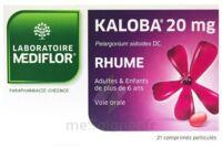 KALOBA 20 mg Comprimé pelliculé Plq/21 à Saint -Vit