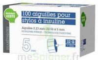 SOLUDIAB Aiguilles stylos insuline 5mm FINES 31G – Bt100 à Saint -Vit