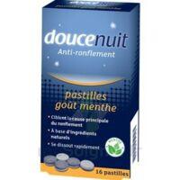 DOUCENUIT ANTIRONFLEMENT PASTILLES à la menthe, bt 16 à Saint -Vit