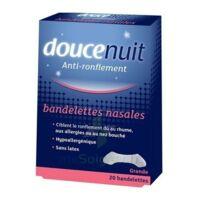 DOUCENUIT Bandelettes nasales GRANDES, bt 20 à Saint -Vit