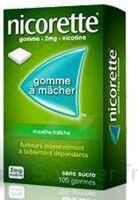 NICORETTE 2 mg Gom à mâcher médic sans sucre menthe fraîche Plq/30gom à Saint -Vit