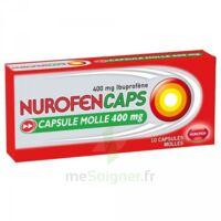 NUROFENCAPS 400 mg Caps molle Plq/10 à Saint -Vit
