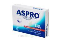 ASPRO 500 mg Comprimés effervescents B/20 à Saint -Vit