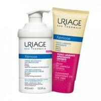 Xémose Crème relipidante anti-irritations Fl pompe/400ml + Huile lavante 200ml à Saint -Vit