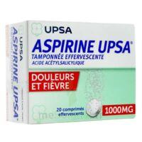 ASPIRINE UPSA TAMPONNEE EFFERVESCENTE 1000 mg, comprimé effervescent à Saint -Vit