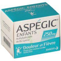 ASPEGIC ENFANTS 250, poudre pour solution buvable en sachet-dose à Saint -Vit