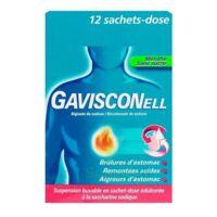 GAVISCONELL Suspension buvable sachet-dose menthe sans sucre 12Sach/10ml à Saint -Vit
