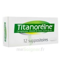 Titanoreine Suppositoires B/12 à Saint -Vit