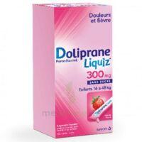 Dolipraneliquiz 300 mg Suspension buvable en sachet sans sucre édulcorée au maltitol liquide et au sorbitol B/12 à Saint -Vit