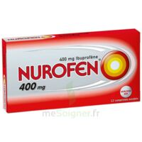 NUROFEN 400 mg Comprimés enrobés Plq/12 à Saint -Vit