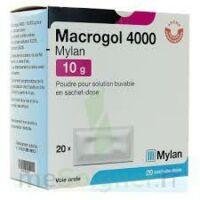 MACROGOL 4000 MYLAN 10 g, poudre pour solution buvable en sachet-dose à Saint -Vit