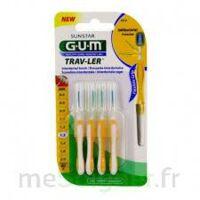 GUM TRAV - LER, 1,3 mm, manche jaune , blister 4 à Saint -Vit