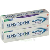 Acheter Sensodyne Rapide Pâte dentifrice dents sensibles 2*75ml à Saint -Vit