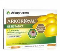 Arkoroyal Propolis verte Echinacée Solution buvable 20 Ampoules/10ml à Saint -Vit