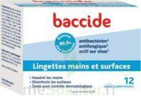 Baccide Lingette Désinfectante Mains & Surface 12 Pochettes à Saint -Vit