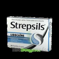 Strepsils lidocaïne Pastilles Plq/24 à Saint -Vit